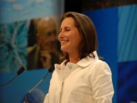 La ministre Ségolène Royal, personnalité importante de la transition énergétique