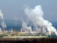 Le site industriel de Lacq, Pyrénées-Atlantiques.