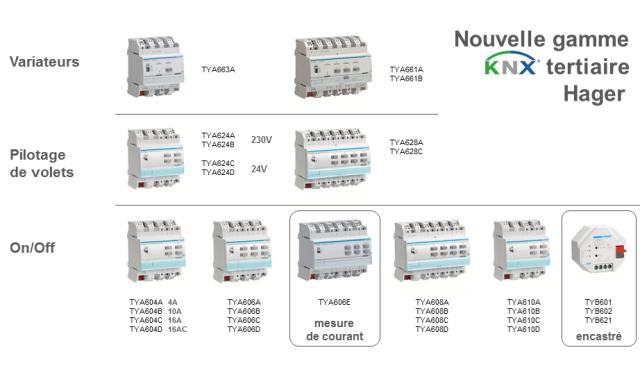 Hager Tebis Knx Goulotte Protection Cable Exterieur