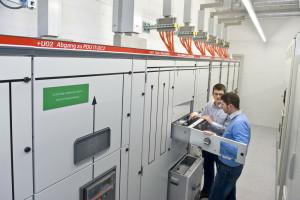© DR. Tableau général basse tension en courant continu 380V/3000A sur le site de Green.ch (Suisse)