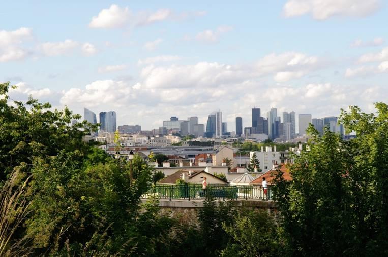 Le quartier de la Défense à Paris (c) Arnaud BOUISSOU MEDDE-METL