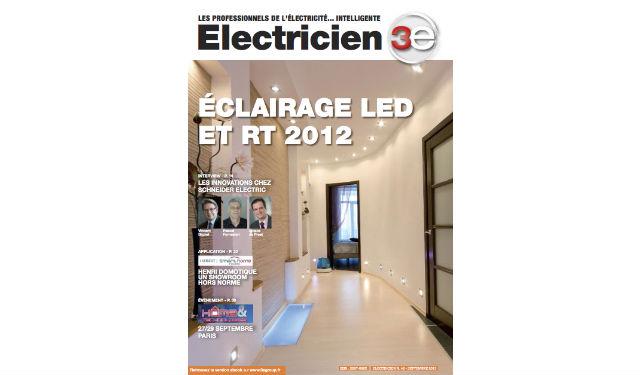 magazine electricien n 48 edition septembre 2013 fili re 3e. Black Bedroom Furniture Sets. Home Design Ideas