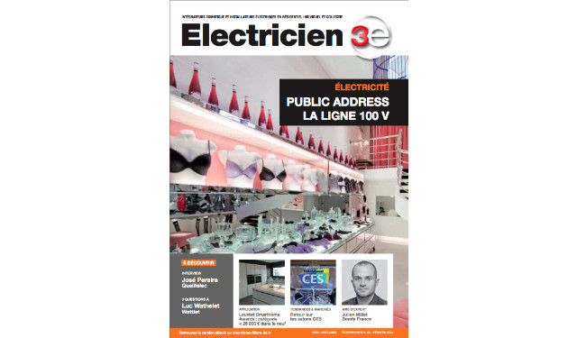 magazine electricien n 50 edition f vrier 2014 fili re 3e. Black Bedroom Furniture Sets. Home Design Ideas