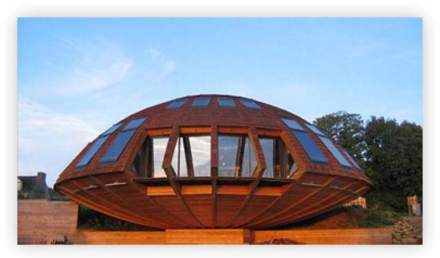 maison bois dome tournante obtenez des id es de design int ressantes en. Black Bedroom Furniture Sets. Home Design Ideas