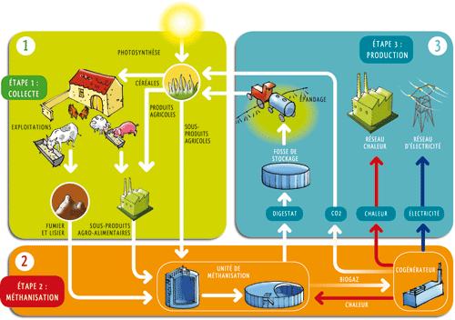 Vers l'autonomie énergétique des territoires : Méthanisation et biogaz, une filière d'avenir par Jean Pierre Grau