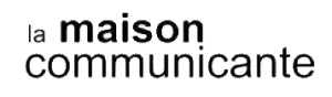 maison communicante logo