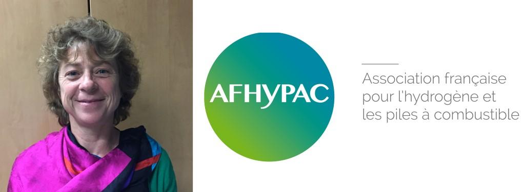 Hélène Pierre, du département Crigen de ENGIE, membre de l'Afhypac, association qui fédère les acteurs de la filière hydrogène et piles à combustible en France.