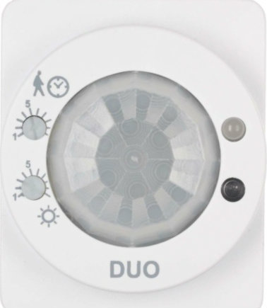 © Osram. Cellule indépendante de mesure de luminosité/mouvement avec un relais-contact.