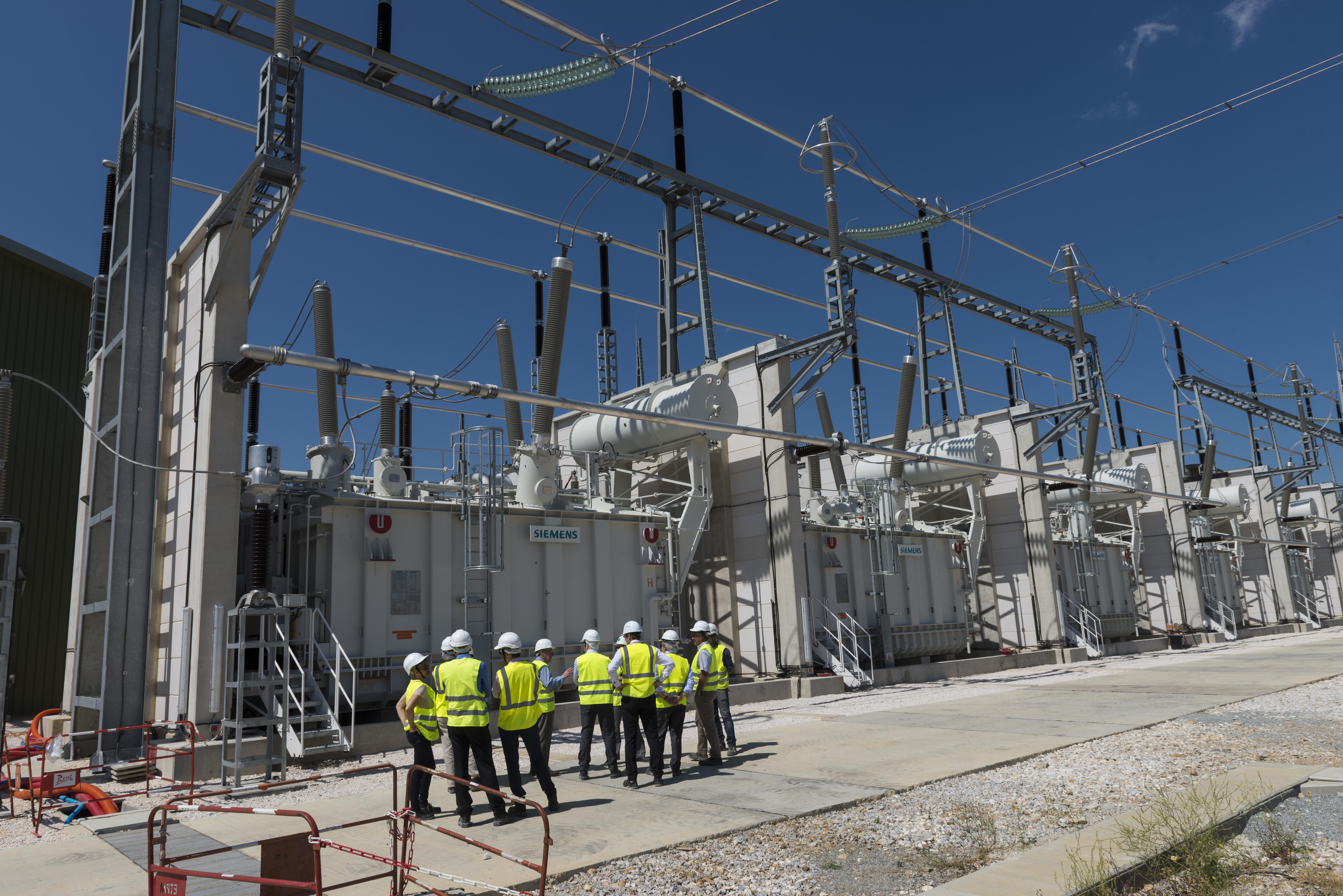 Inelfe, interconnexion électrique franco-espagnole permettant de doubler la capacité d'échange d'électricité entre les deux pays et d'intégrer davantage de production à base d'énergies renouvelables.