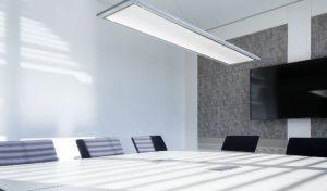 Fonctionnels et stylés : les bureaux et les salles de réunions répondent aux exigences les plus poussées.