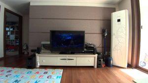 Installation complète avec un système Bose home cinéma
