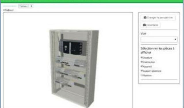 Schneider electric lance ecoreal630 un logiciel qui r volutionne la conception des tableaux - Logiciel armoire electrique ...