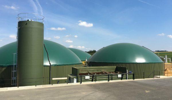 Unité de méthanisation et d'injection de biométhane d'Épaux-Bézu – capacité d'injection de plus de 10 GWh