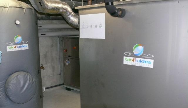 """Unité ERS située dans le sous-sol de la résidence """"Lux Confluence"""" à Lyon"""