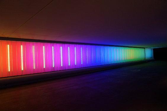 © Seulsoleil. Maître d'ouvrage : Viparis Porte de Versailles – Installateur : Socomelec Industries – Matériel d'éclairage : Ecce'lectro – Traxon-Osram