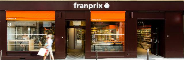 Franprix Cléry. © Seignette Lafontan
