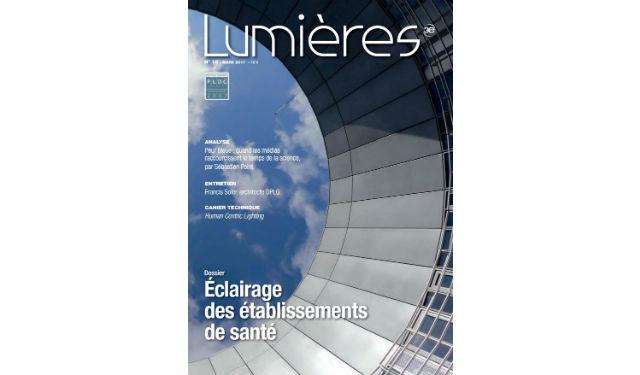 Lumières N°18 - Mars 2017 © Jean-Pierre Porcher, Centre de R&D EDF Saclay, Architecte : Francis SOLER