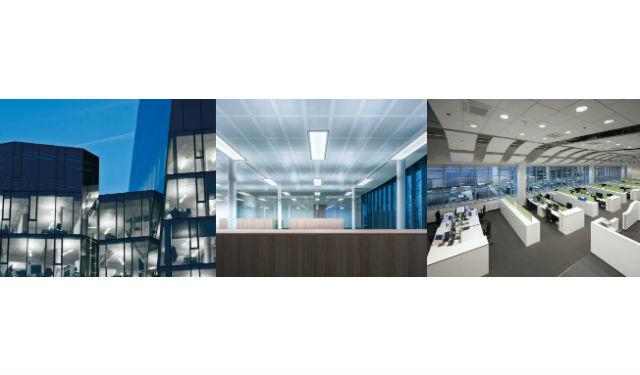 © Zumbotel – © Trilux – © ERCO Éclairage des bâtiments de bureaux