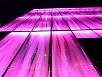 © Evonik, Des façades illuminées en plaques de PLEXIGLAS® Evonik PLEXIGLAS