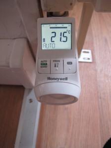 Thera-Pro de Honeywell. nouvelle gamme de têtes programmables de radiateurs.