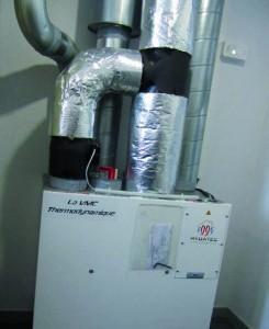 Système de ventilation thermodynamique double flux Mydatec