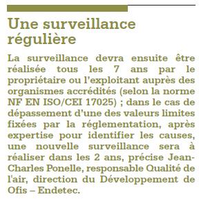 surveillance réguilière