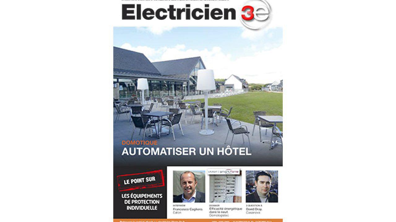 Etude De Marche Artisan Electricien electricien 3e n°53 octobre 2014 - filière 3e