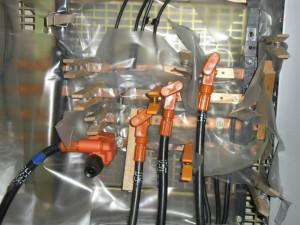 © ISFME. Travaux sous tension sur batteries d'accumulateur