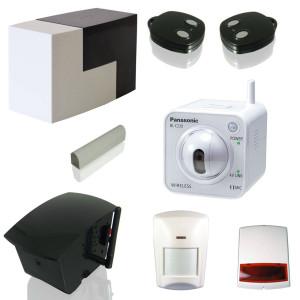 MY FOX PACK SÉCURITÉ EVOLUTION Pack d'alarme et de vidéosurveillance contrôlable à distance permettant de sécuriser et surveiller à distance son domicile depuis un smartphone ou un ordinateur connecté à Internet. Solution évolutive pouvant être complétée par de nombreux accessoires complémentaires d'alarme, vidéosurveillance et domotique. Pack comprenant: - 1 centrale MY FOX Home Control - 1 caméra WiFi Panasonic BL-C230 avec objectif motorisé - 1 capteur anti-effraction TAG breveté - 1 détecteur infrarouge compatible animal - 1 relais radio sirène 110 dB - 1 sirène extérieur radio 104 dB - 2 télécommandes