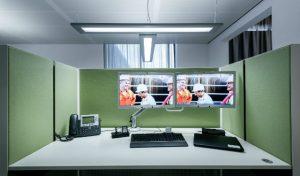 Un éclairage optimal : au poste de travail, Luceo se signale par son confort visuel élevé.