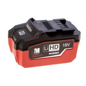 La nouvelle batterie LiHD de Metabo: 67% de puissance et 87% de durée de vie en plus.