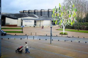 Inauguration Arbre à vent à Velizy