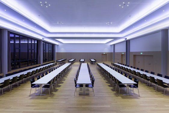 Trilux architectural création d un concept d éclairage pour un