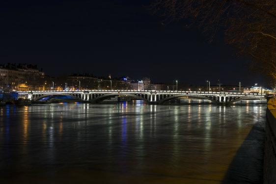 © Michel Djaoui – Maître d'ouvrage : ville de Lyon, direction éclairage public – Installateur : SPIE – Matériel d'éclairage : CREE – LEC – XICATO