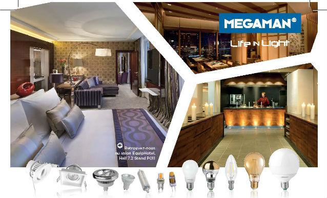 www.megaman.fr – commercial@megaman.fr – @MegamanFR – Tél. : 02 99 68 46 69