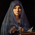 Antonello da Messina 1430- 1479 L'Annunciazione 1475 Museo Nazionale Palermo