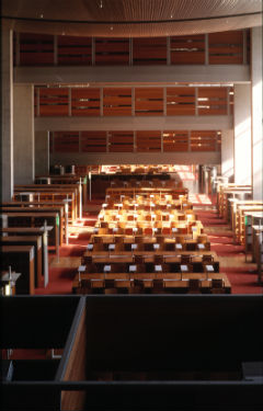 © Georges Fessy, Bibliothèque nationale de France (Prix Mies van der Rohe 1997).