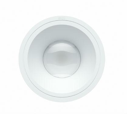 © ERCO GmbH, équipés de la répartition Extra wide flood, les projecteurs Skim garantissent un éclairage géné-ral homogène, non-éblouissant et ultra-perfor¬mant, pour lequel il est possible d'augmenter l'en¬traxe recommandé entre les luminaires jusqu'à 1,5 fois la distance à la surface utile.