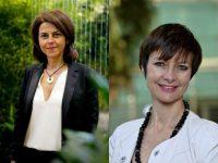 © Elisabeth RULL, Noémi Petit, Directrice du salon et Catherine Muller, Présidente du salon et de l'Unep paysalia