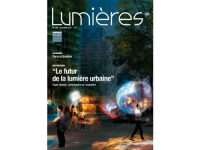 Lumières N°20. Le futur de la lumière urbaine. © Noémie Riou, Concepto,