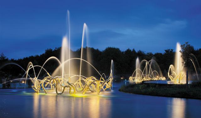 Conception lumière LEA. © Citeos. Photo Xavier Boymond Parcs et Jardins