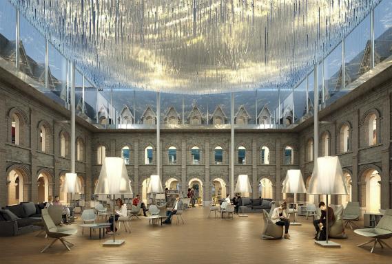© Agence Moatti-Rivière - Les Franciscaines, Deauville. Restructuration et reconversion d'un bâtiment du XIXe siècle. Architecte : agence Moatti-Rivière