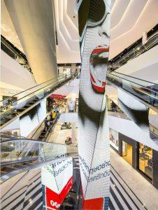 EmQuartier, Bangkok (Thaïlande) – Architecte : JH Boiffils Architecture – Photographe : Luc Boegly – Prix Versailles 2018 Asie du Sud et Pacifique, catégorie Galerie marchande.