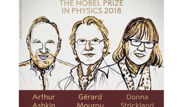 prix nobel de physique 2018