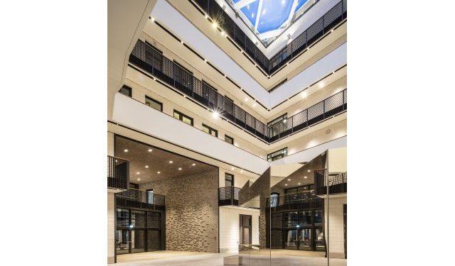 © Targetti. Photographe Carsten Brügmann – Maître d'ouvrage : Zeisehof, Hambourg – Architecte : Störmer Murphy & Partners – Concepteur lumière : Peter Andres – Solution éclairage : Targetti BIM