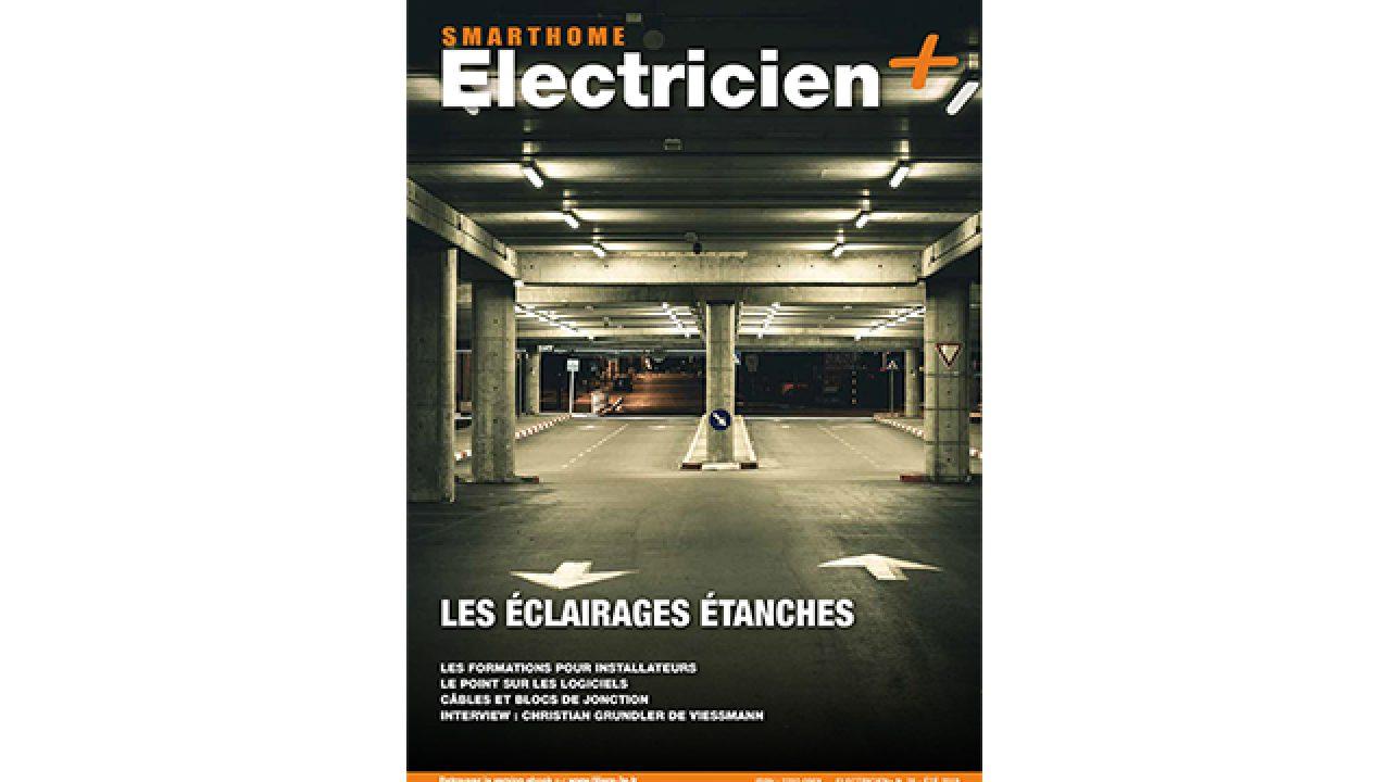 Etude De Marche Artisan Electricien smarthome Électricien+ n°76 // juin 2019 _Éclairage étanche