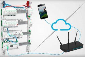 Principe de fonctionnement du tableau connecté Schneider Electric