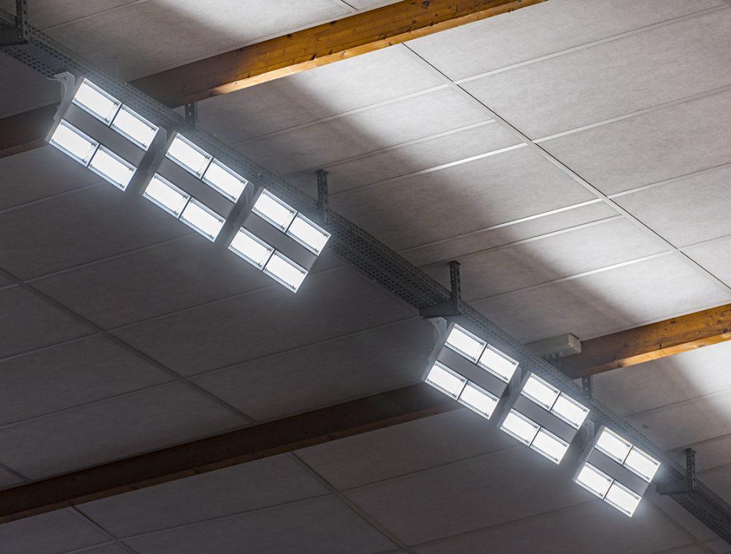 Les luminaires LED TRILUX améliorent l'efficacité énergétique et réduisent la consommation d'énergie. ©Trilux