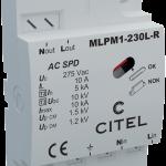 MLPM1-230L-R, parafoudre basse tension pour éclairage LED