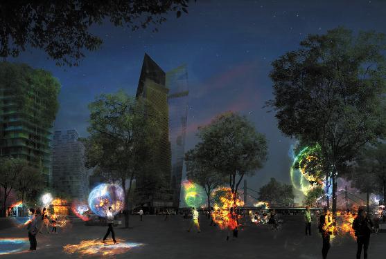 """Exposition """"le futur de la lumière urbaine"""" ©Noémie Riou, CONCEPTO"""